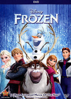 Home No DVD The latest hot selling Children movies (Frozen) DVD Factory supplier Best quality Free shipping