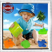Cheap Children Beach Toys Kids Toys Toddlers Outdoor Play Playsets Beach Games For Kids Sand Toy 5pcs set