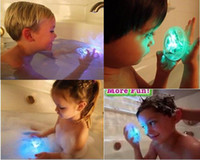 Eco Friendly   120pcs Wholesale Brand New Party in the tub light bathtub light-up toy Waterproof LED Light Toy PreTeens Bath Tub Tizzies