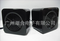 Wholesale 3 mm Plug USB Power Computer Speaker with Retail Package