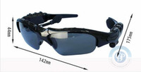 Cheap Resin Lenses Bluetooth glasses Best Driving Semi-Rimless Bluetooth sunglasses