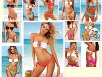 Wholesale 2014 Hot Slae Sexy Swimwear Female Monokini Diamond Bandeau Bikini Set Women Sexy Swimsuit Swimwear WY338