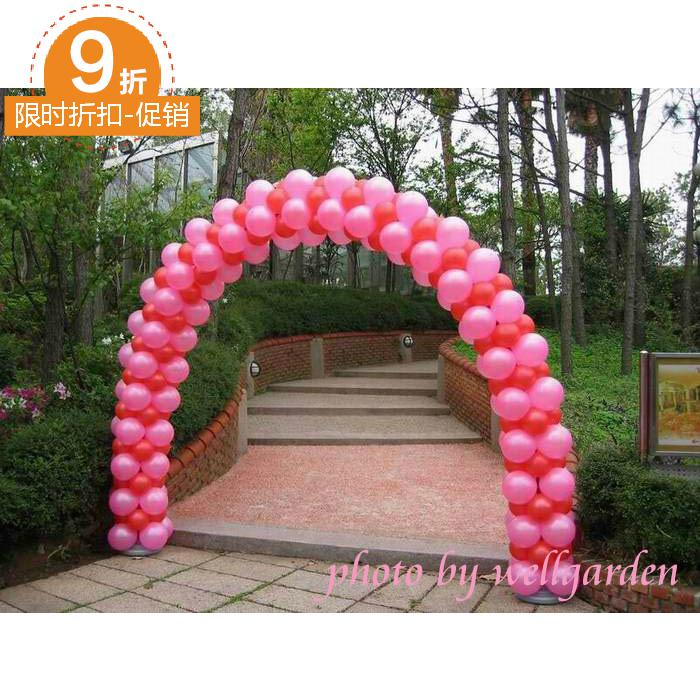 Wedding Props Arranged Balloon Arches Demolition Wheel