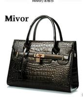 Wholesale Mivor handbag crocodile grain new fashion female bag bag bag single shoulder bag
