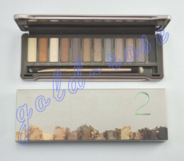 Wholesale NEW High quality HOT Makeup Nude Eye Shadow Colors Eyeshadow plate gift