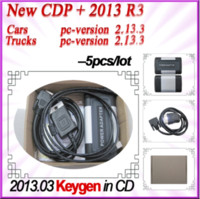 Code Reader For Benz TCS CDP+ wholesale! 5pcs lot---2013.R3 Grey CDP+ cdp pro Power Adapter with KEYGEN! For CARs+TRUCKs+Generic 3in1 with best quality DHL freeshipping