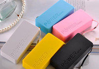 Yes   USB Power Bank 5600mah Emergency External Battery Charger panel for mobile phone with retail box 6 colors