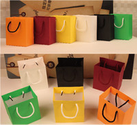 shopping bags paper - Beautiful bag gift bag Extra small paper bag beautiful packaging cosmetics shopping bags small gift hand carry bag cm