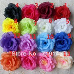 200pcs 8cm Fabric Artificial rose silk flowers DIY accessories arch flowers wedding flower vine decoration