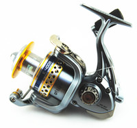 Yes Front Drag Spinning Reel Spinning Hot Sale Fishing Reel K4000 7+1 BBs High Speed Spinning Reel Good Quality Fishing Tackle Free Shipping Ocean Fishing