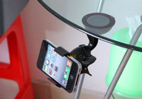 Wholesale 2pcs mobile phone holder car windshield sucker mount bracket stand degree rotating for gps tablet pc universal accessories