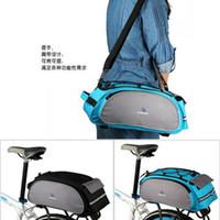 Wholesale Newest Bicycle Roswheel Rear Seat Trunk Bag Handbag Bag Pannier Black