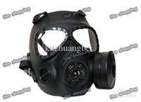 Wholesale M04 Gas Mask Style Mask w Fan Black free ship