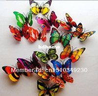 Animal artificial butterfly wings - NEW hot D Butterfly realistic Double Wing Artificial beautiful for Wedding Decorations Home party Decoration