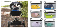 Animal Prints stroller baby - 2014 New Diaper Bags For Baby Stroller Cartoon Storage Bag Hung Bag