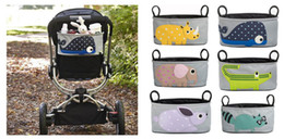 Wholesale 2014 New Diaper Bags For Baby Stroller Cartoon Storage Bag Hung Bag