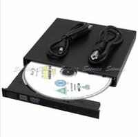 Wholesale USB External Combo DVD RW CD RW Burner DVD Drive DVD ROM CD ROM For PC Free Express