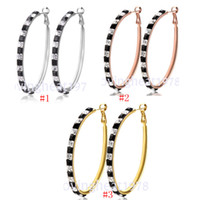 Wholesale 2014 New Arrival Gold Plated Loop Earrings For Women