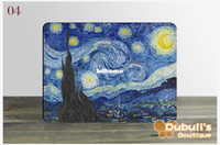 Wholesale Vincent Van Gogh Abstract Landscape Oil Painting Printed Fridge Magnets Magnetic White Board Sticker for Home Decor