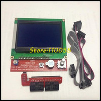 Ramps 1.4   Free shipping !! 3D printer smart controller RAMPS 1.4 LCD 12864 LCD control panel blue screen