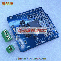 Motor Driver Shield L298P 5set   Free shipping 5lot Ardumoto - Motor Driver Shield L298P DC stepper motor driver board dual