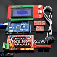 0.500kg (1.10lb.) 10cm x 10cm x 5cm (3.94in x 3.94in x 1.9  1pcs Mega 2560 R3 + 1pcs RAMPS 1.4 Controller + 5pcs A4988 Stepper Driver Module +1pcs 2004 controller for 3D Printer kit