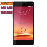 ZTE 4.7 MTK ZTE Nubia Z5S mini NX403A Smartphone 2GB 16GB Snapdragon 600 1.7GHz 4.7 Inch SHARP IGZO Screen WCDMA CDMA OTG Limted Quantity