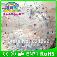 Cheap china factory toys human bubble ball hot sale human sized hamster ball