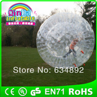 Big Kids Inflatable Toys other Guangzhou QinDa toys rubber pussy zorb inflatable human hamster ball