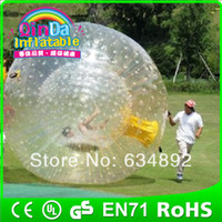Big Kids Inflatable Toys other water park inflatable toys rubber foam balls human hamster ball