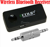 Wholesale Wireless Bluetooth Stereo Audio Music Receiver for iPod iPhone S iPad amp Drop Shipping