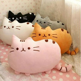 Wholesale I am Pusheen the Cat cushion cute pillow decorate for sofa pusheen toys cat bedding home decors computer office chair