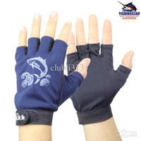 Fingerless Gloves art lures - gloves new good Pelagic Non slip Palm Five Fingers fishing lure Gloves Pair ST25