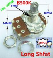 Wholesale Pack mm handle MM B500K guitar tone pots for guitar Tone control
