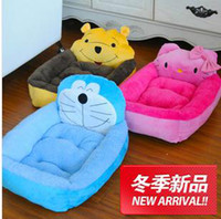 Wholesale Cartoon face new kennel large dog kennel pet nest bed dog kennel pet nest pad manufacturers