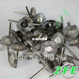 Wholesale 20pcs Steel Wire Wheel For Dremel Die Grinder Rotary Tools