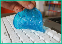 Wholesale Keyboard Cyber Computer Cleaning Compound Super Clean Slimy Magic Gel laptop Cleaner laptop Cleaner best quality DHL FREE UP
