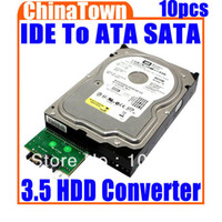 Wholesale IDE To Serial ATA SATA for HDD PC Adapter Converter