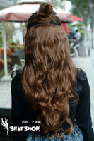Wholesale One Piece long loose wave hair extension clip in hair