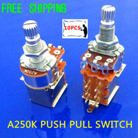 Switches audio taper - NEW Tog A250K Audio Taper Push Pull Pot Potentiometer Switch