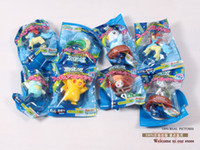 Wholesale 10sets Anime Cartoon Pokemon PVC Action Figure Toys Dolls per set PKFG002
