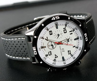 Sport Unisex Not Specified 2014 Big Dial Watch Military Men Sport Quartz Watches Army Japan Movement Wristwatch Luxury GT Brand 150pcs DHL UPS Youmyelectec1688