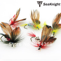 Wholesale SeaKnight Top Quality Style butterfly Treble Hook hard fly fish lure Fly Fishing Trout