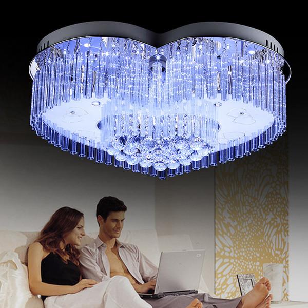 Moderne Mode führte Deckenwohnzimmer beleuchtet Kristalllampe ...
