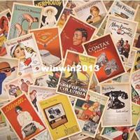 al por mayor cartel de boxeo de la vendimia-32pcs/cuadro de estilo Vintage de las estrellas de Cine cartel de Dibujo post juego de tarjetas /tarjetas postales/ tarjetas de regalo/Tarjetas de Navidad/Regalos