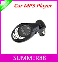Wholesale Car MP3 Player FM Transmitter with SD Slot and IR Remote SD MMC USB Port MP3