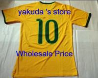 Thai Quality Customized Brazil Soccer Jerseys , 2014 Brasil ...