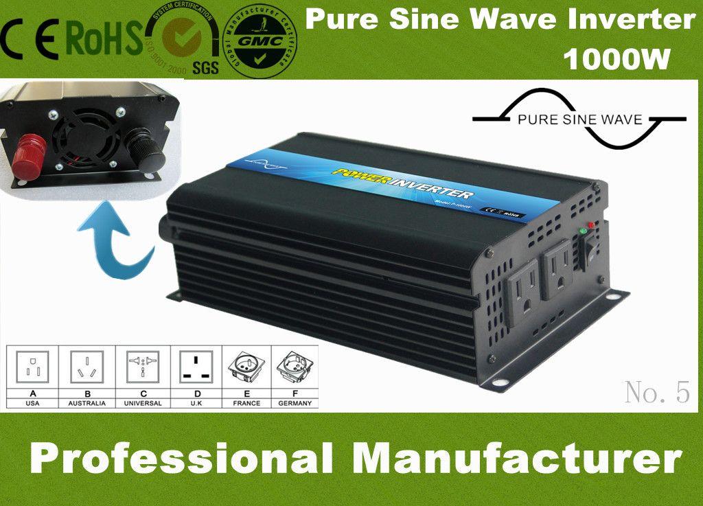 Car Inverter 1000w 12 V To 220 V Vehicle Power Supply 2000