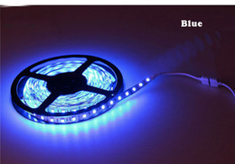 50M 50 meter RGB LED Strip Lighting lights Flexible 3528 SMD 60LEDs M 5M Reel Non Waterproof DC 12V indoor lights