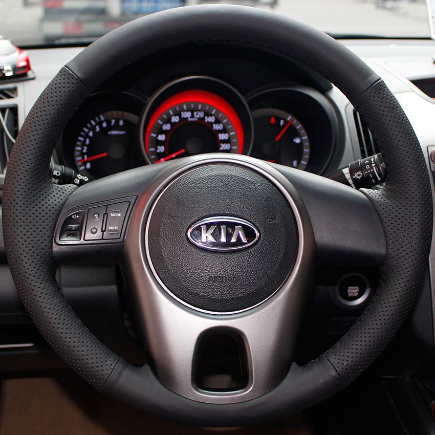 Xuji Steering Wheel Cover For Kia Forte Kia Soul 2013 Soul